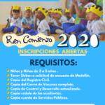 Inscripciones Buen Comienzo 2020.